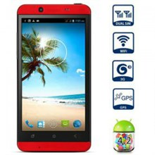 CUBOT ONE Quad-Core Android 4.2.1 WCDMA Barphone w / 4.7